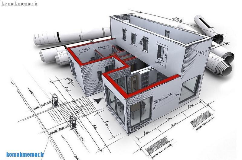 نقشه معماری