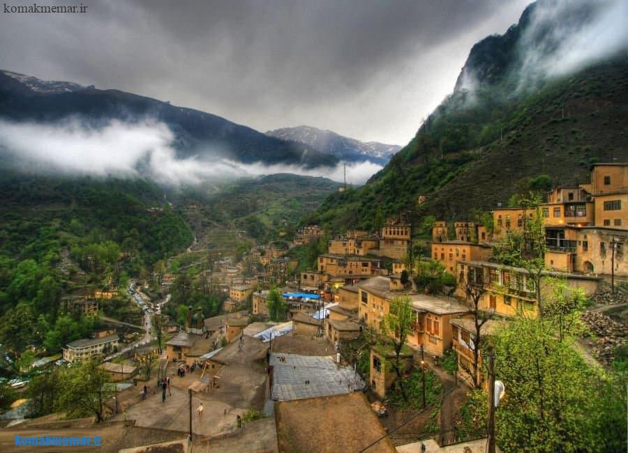 شهر تاریخی ماسوله، نمادی از معماری پایدار