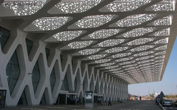 ترکیب معمارس اسلامی و مدرن