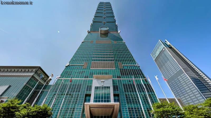 عکس برجهای بلند نمادی از پسامدرنیسم