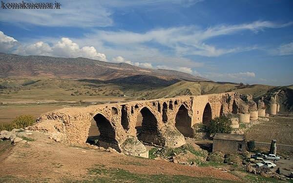 پل سازی در دوره های اولیه در ایران