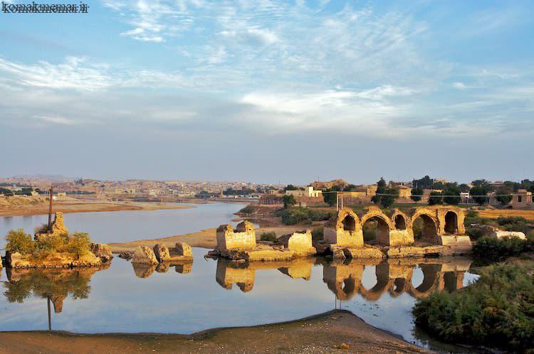 پل بند شادروان - پل قیصر