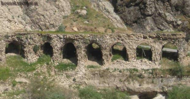پل پیرین (برین )در دوره ساسانیان