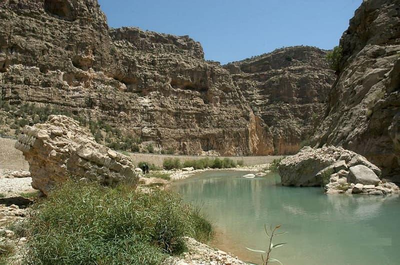 پل تنگاب در دوره ساسانیان
