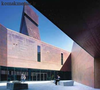 چشم انداز بلند موزه de Young