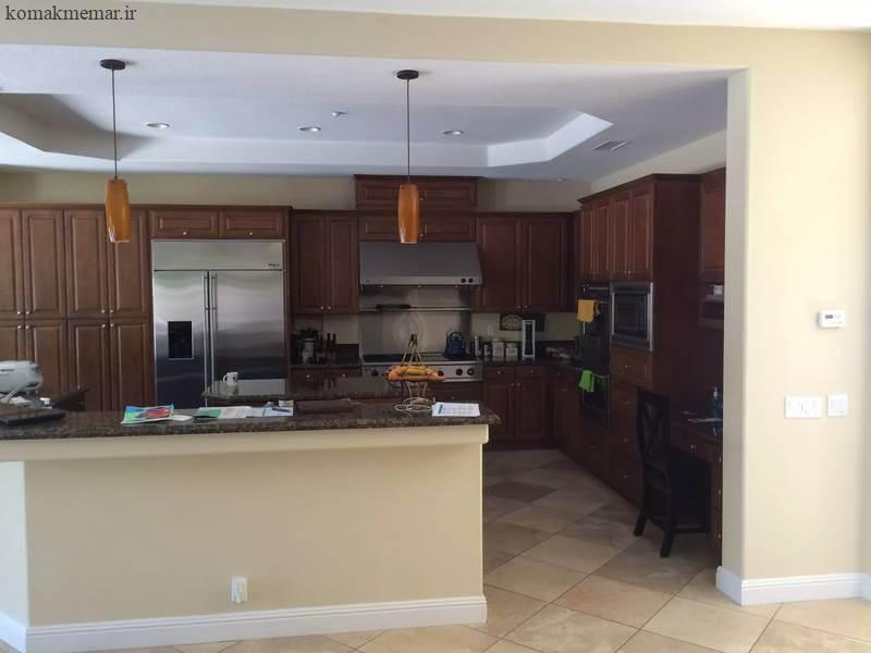 آشپزخانه را به فضایی روشن