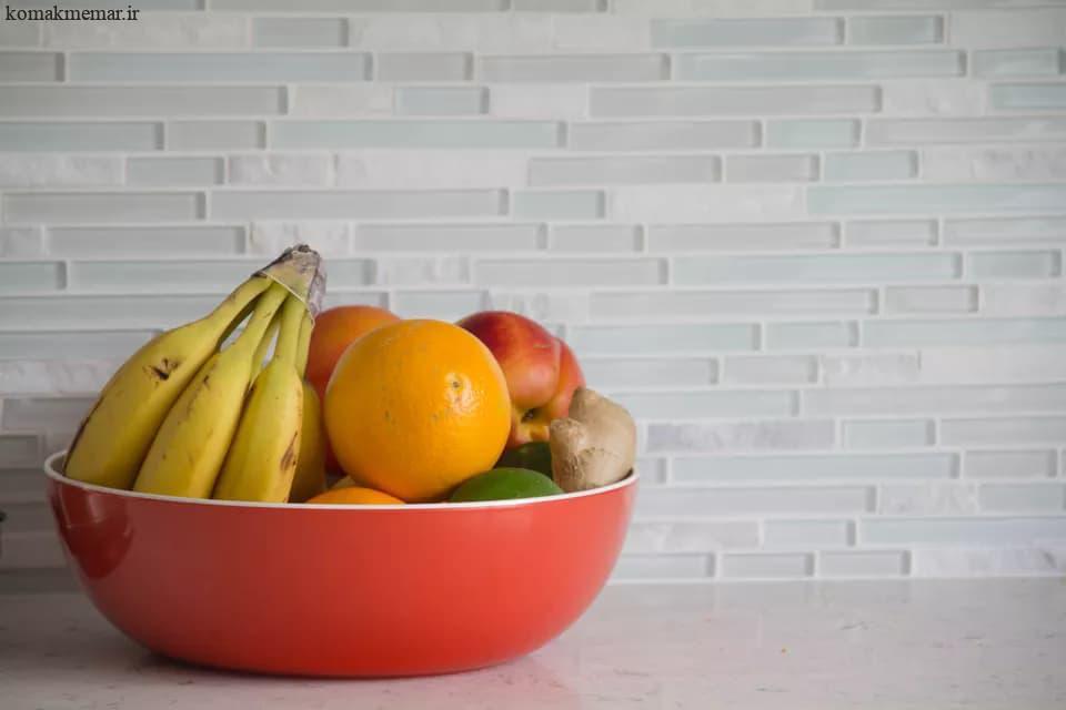 چگونه دیوارپوش آشپزخانه را کاشیکاری کنیم.