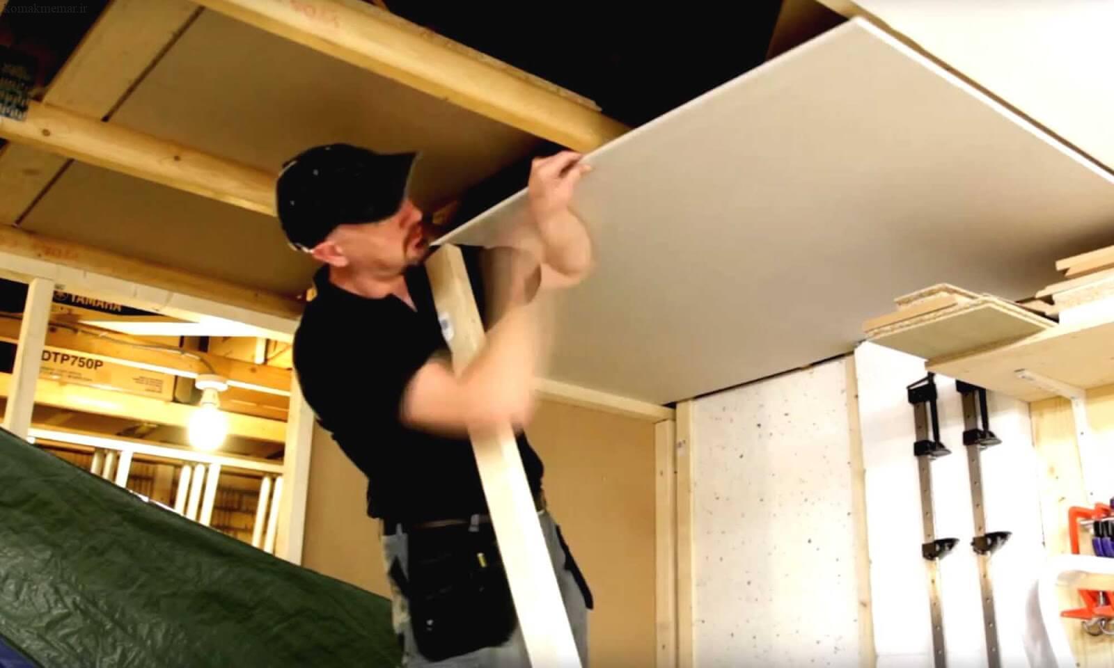 چسب گچ کاری سقف
