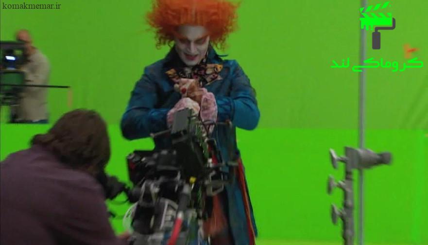 تکنیک کروماکی در فیلم سینمایی